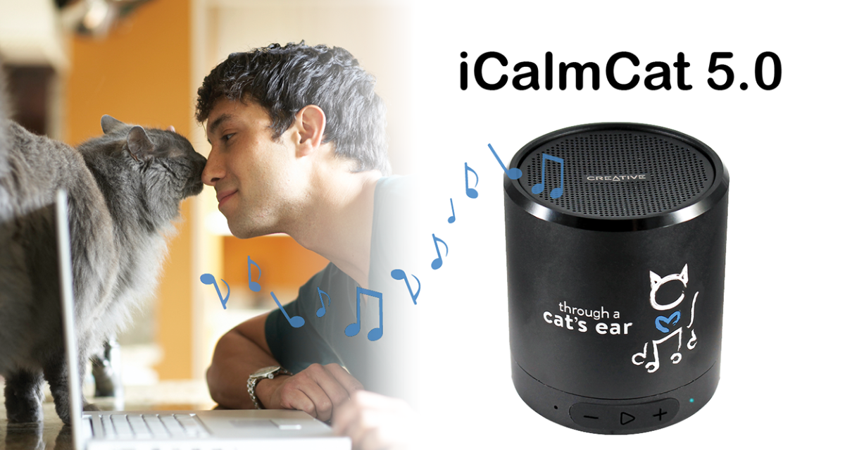 iCalmCat 5.0 Speaker (for cats)