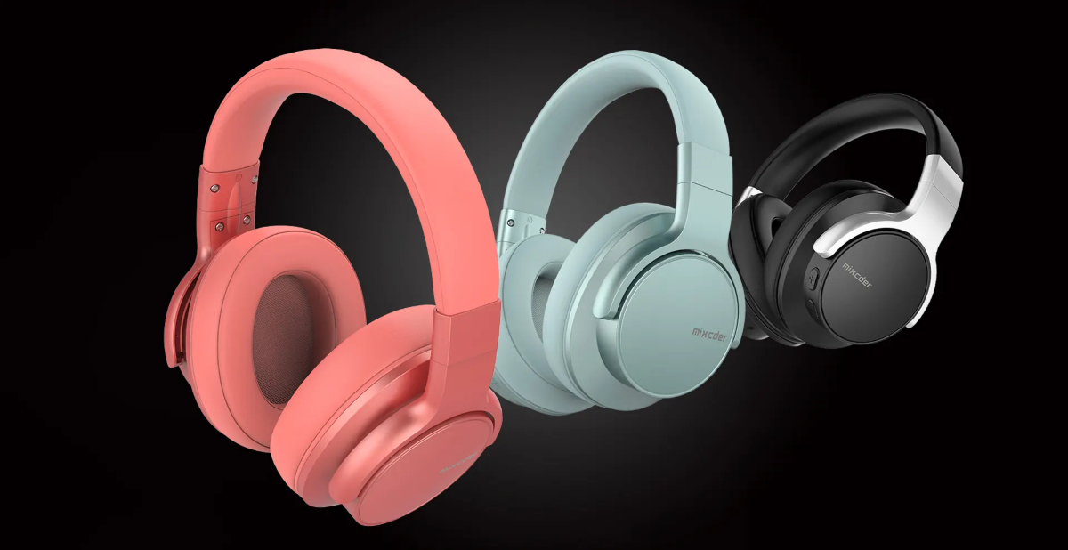 Mixcder E7 Wireless ANC Headphones - 3 Different Color Models