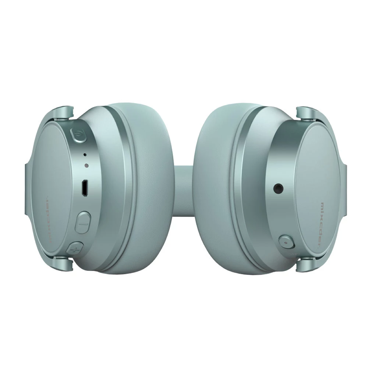 Mixcder E7 Wireless ANC Headphones - Quick-Access Buttons, Micro-USB Recharging Port and 3.5mm Audio Port