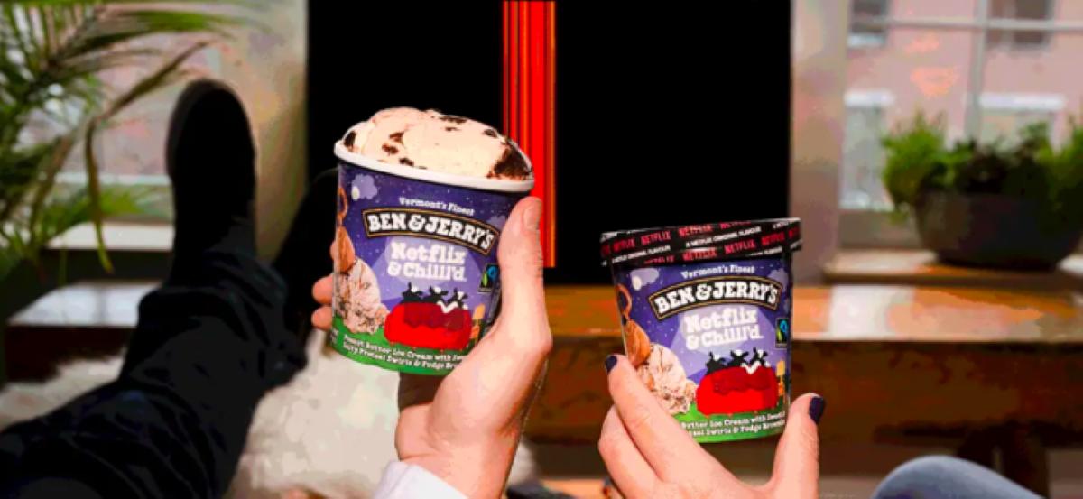 Ben & Jerry's Official Netflix Ice Cream Flavor (2)