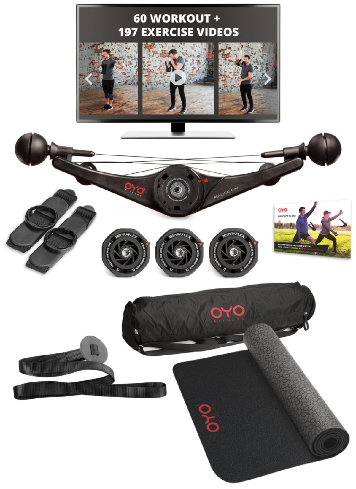 OYO Gym Package - Box Contents