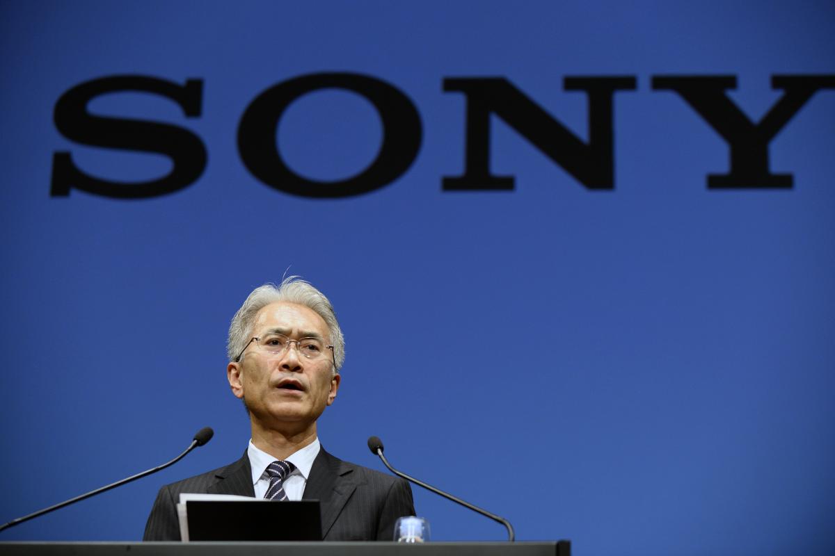 Sony's CEO Kenichiro Yoshida