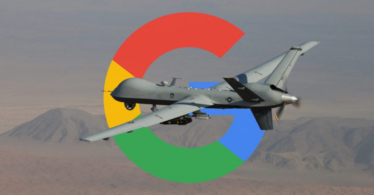 Google's involvement with Military Drone's A.I. Technology