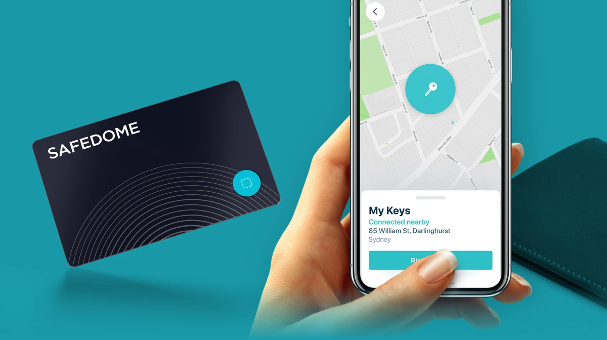 Safedome Bluetooth Tracking Device - Track Your Keys