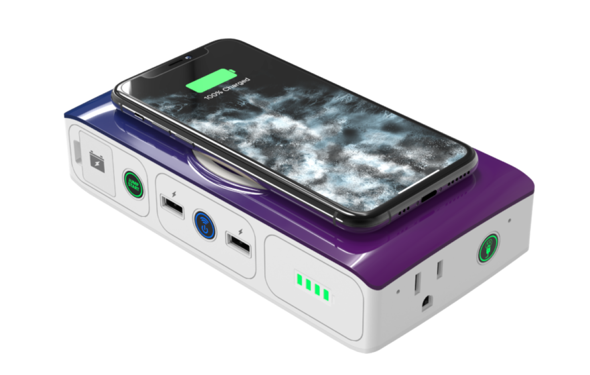 Mophie Go Qi Phone Charger & Car Jump Starter Review - Supports Qi Wireless Charging