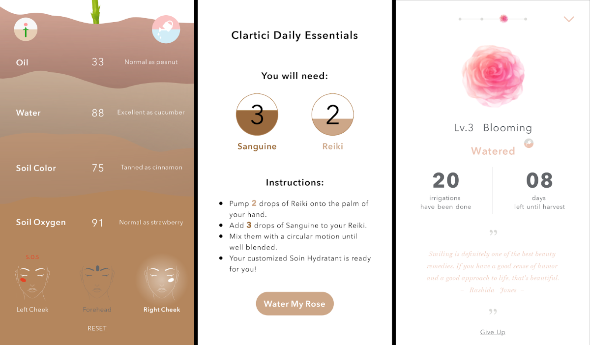 Clartici App - Detailed and Easy-To-Read Intuitive Interface with Accurate Skin Health Stats