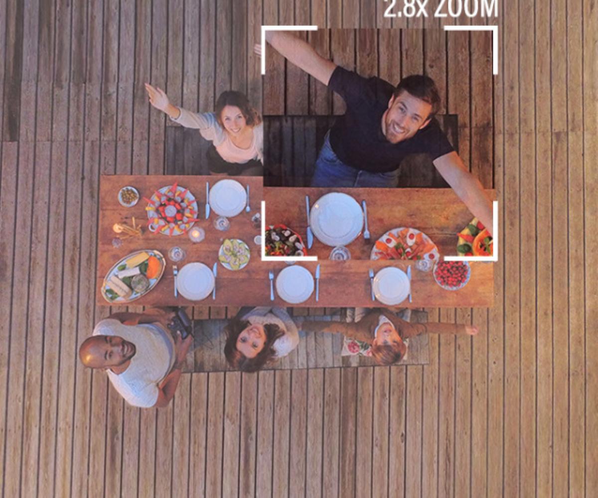 Max Lossless 2.8x Digital Zoom