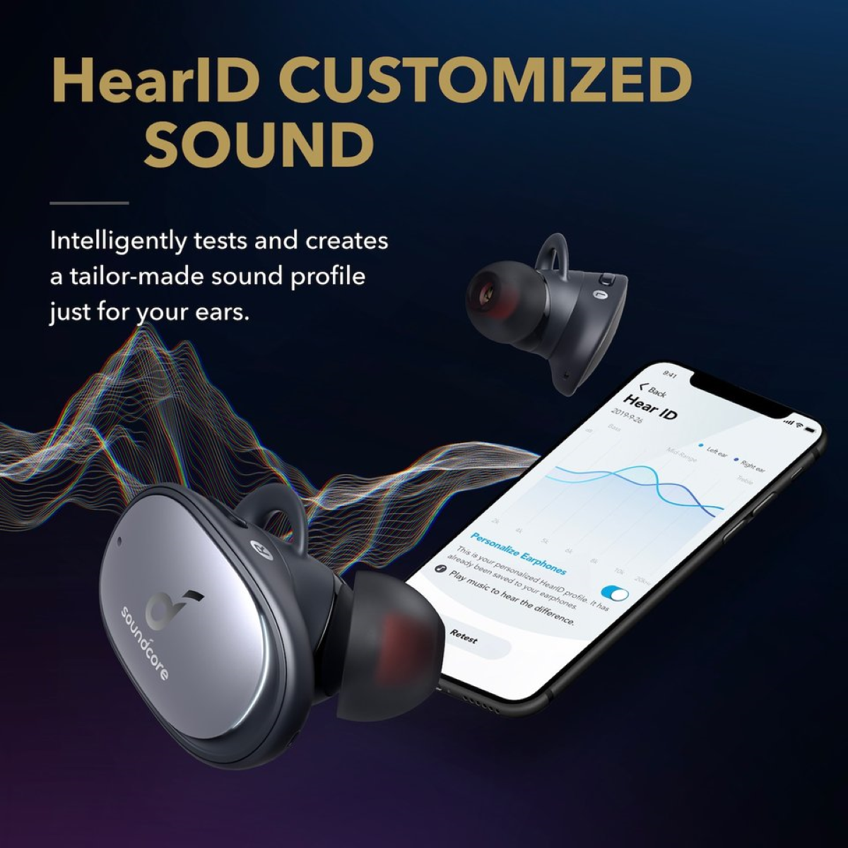Customized Sound Profiles - HearID Custom Sound