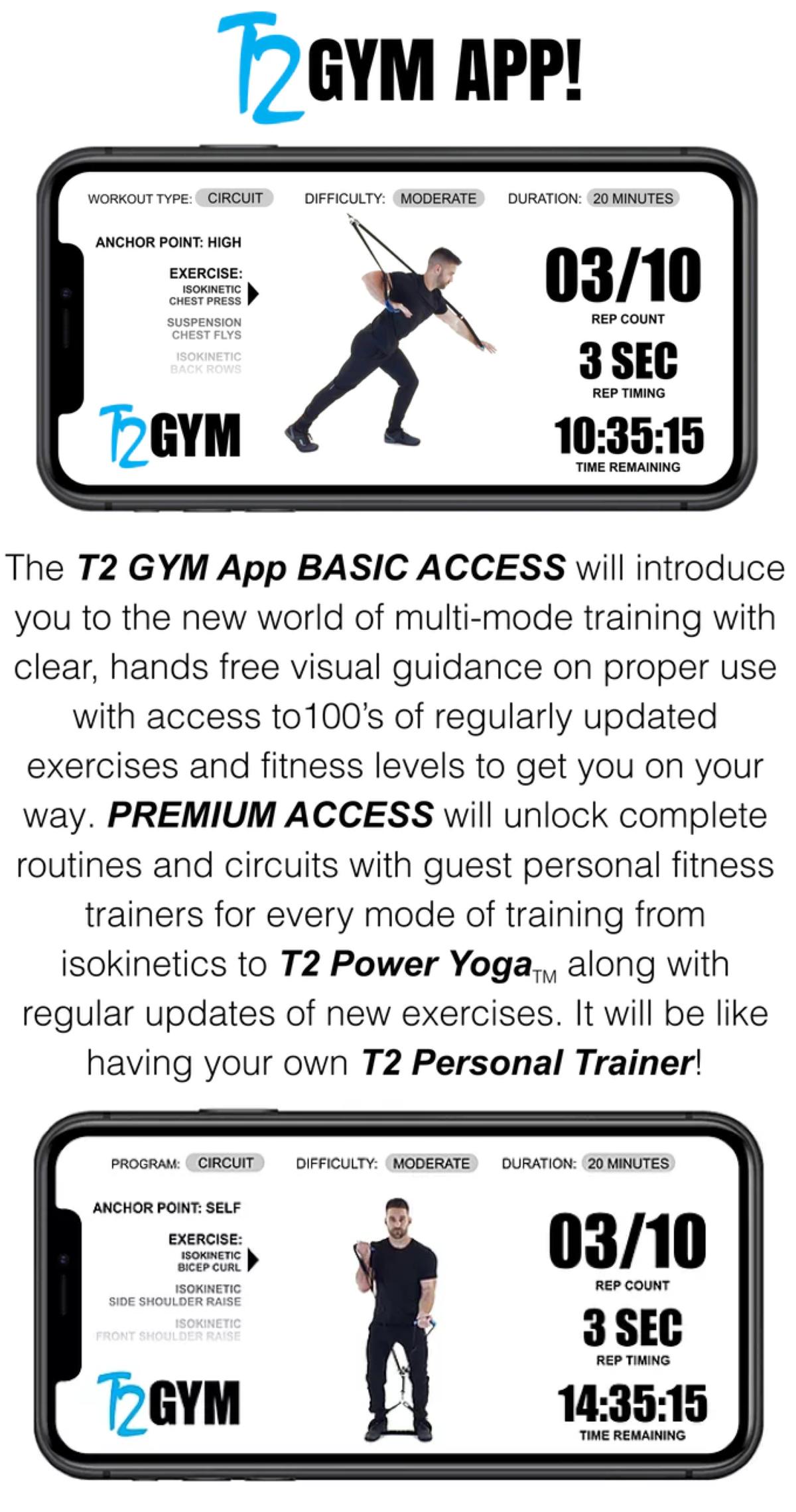 T2 Gym App