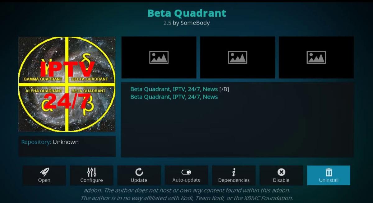Beta Quadrant IPTV
