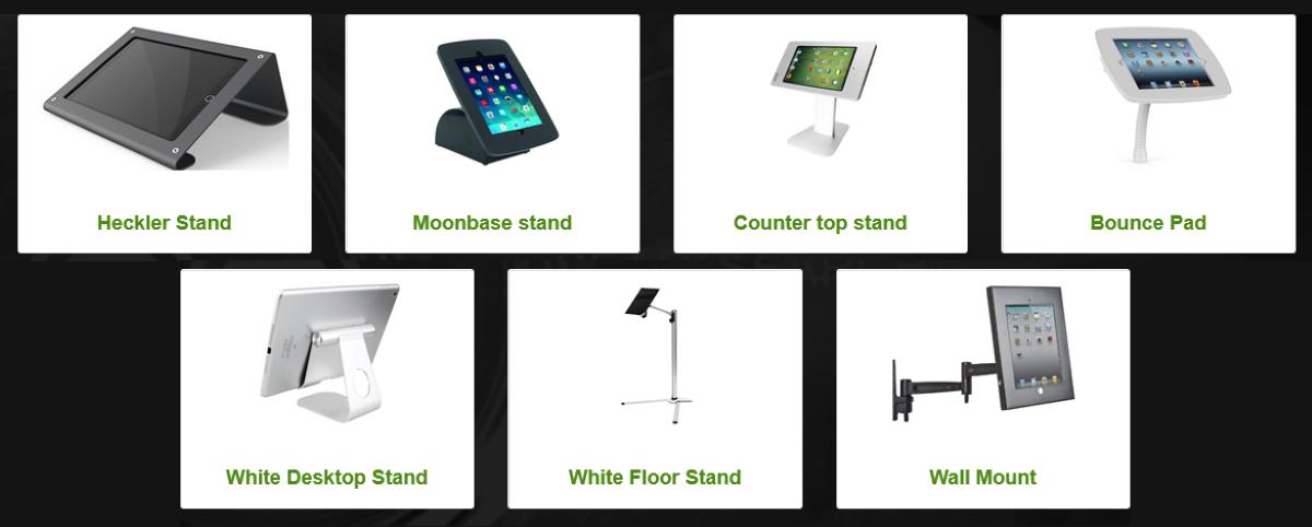 iPad Exhibition Stands