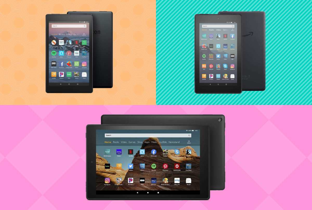 Fire 7 Tablet, Fire HD 8 Tablet, and Fire HD 10 Tablet - Standard Models