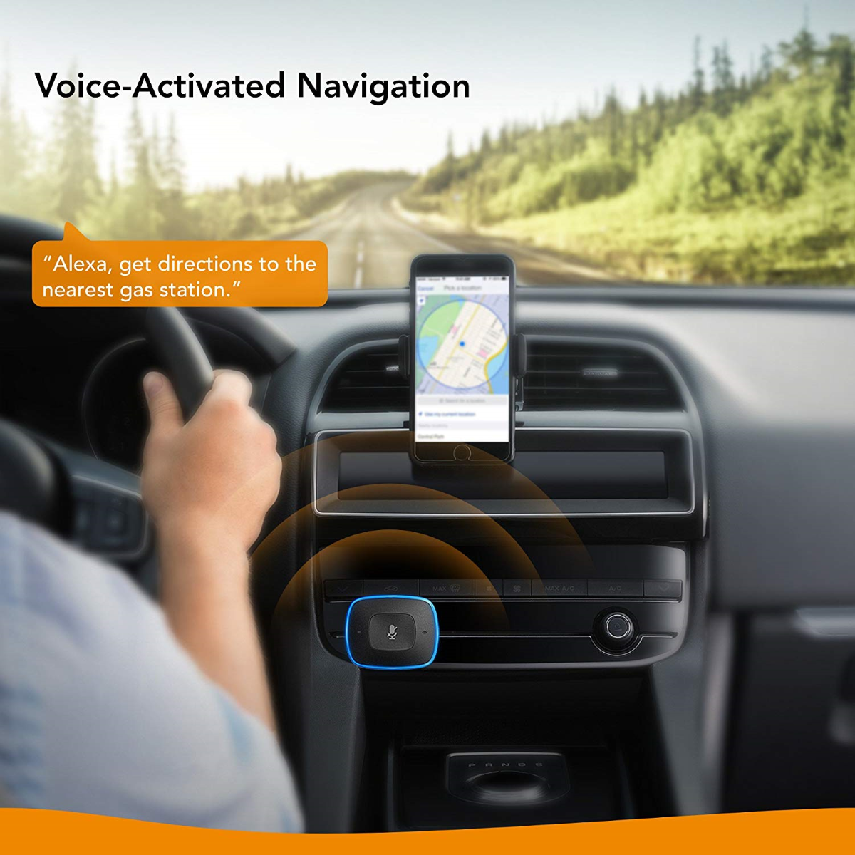 Roav VIVA Pro - Voice-Activated Navigation