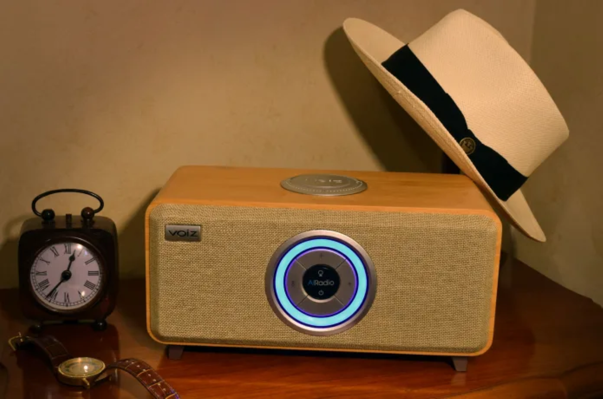 Voiz AiRadio Duo VR-80 Smart Speaker