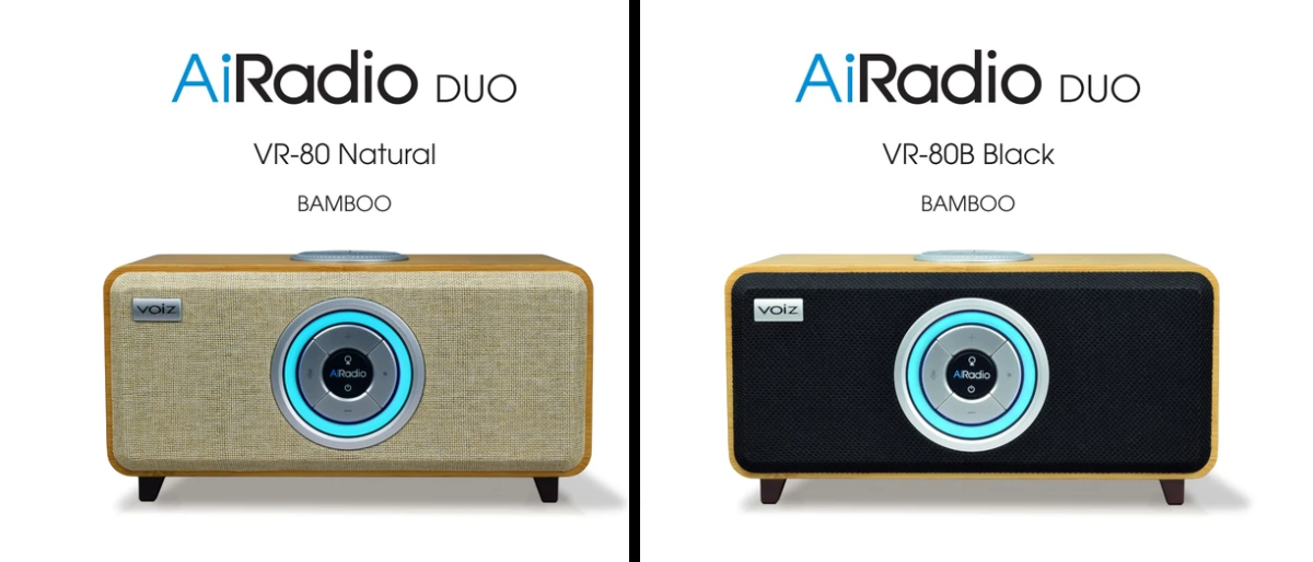 Voiz AiRadio - 2 Different Color Models
