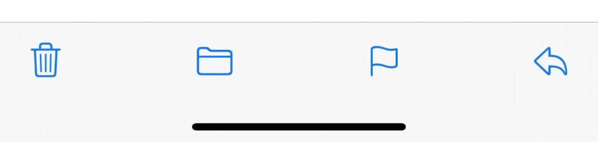 New Mail Toolbar