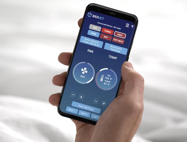 Smartphone Companion App – BedJet App