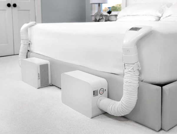 BedJet 3 Dual Zone Climate Comfort System for Couples - Set Up for Couple Beds