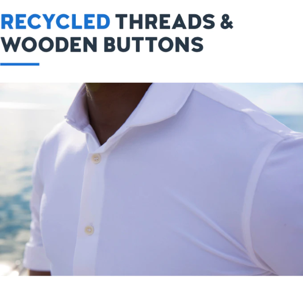 Environmental-Friendly Design - Made by using 100% biodegradable fabrics and 100% recycled polyester sewing threads and also integrate wooden buttons