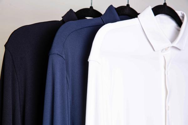 Three Different Color Models - plain White, plain Navy, and plain Black
