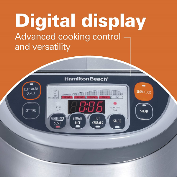 High-Quality Control Panel equipped with a Digital Display & Intuitive Push-Button Controls