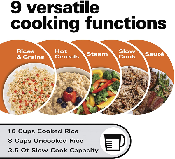 9 Different Versatile Cooking Functions