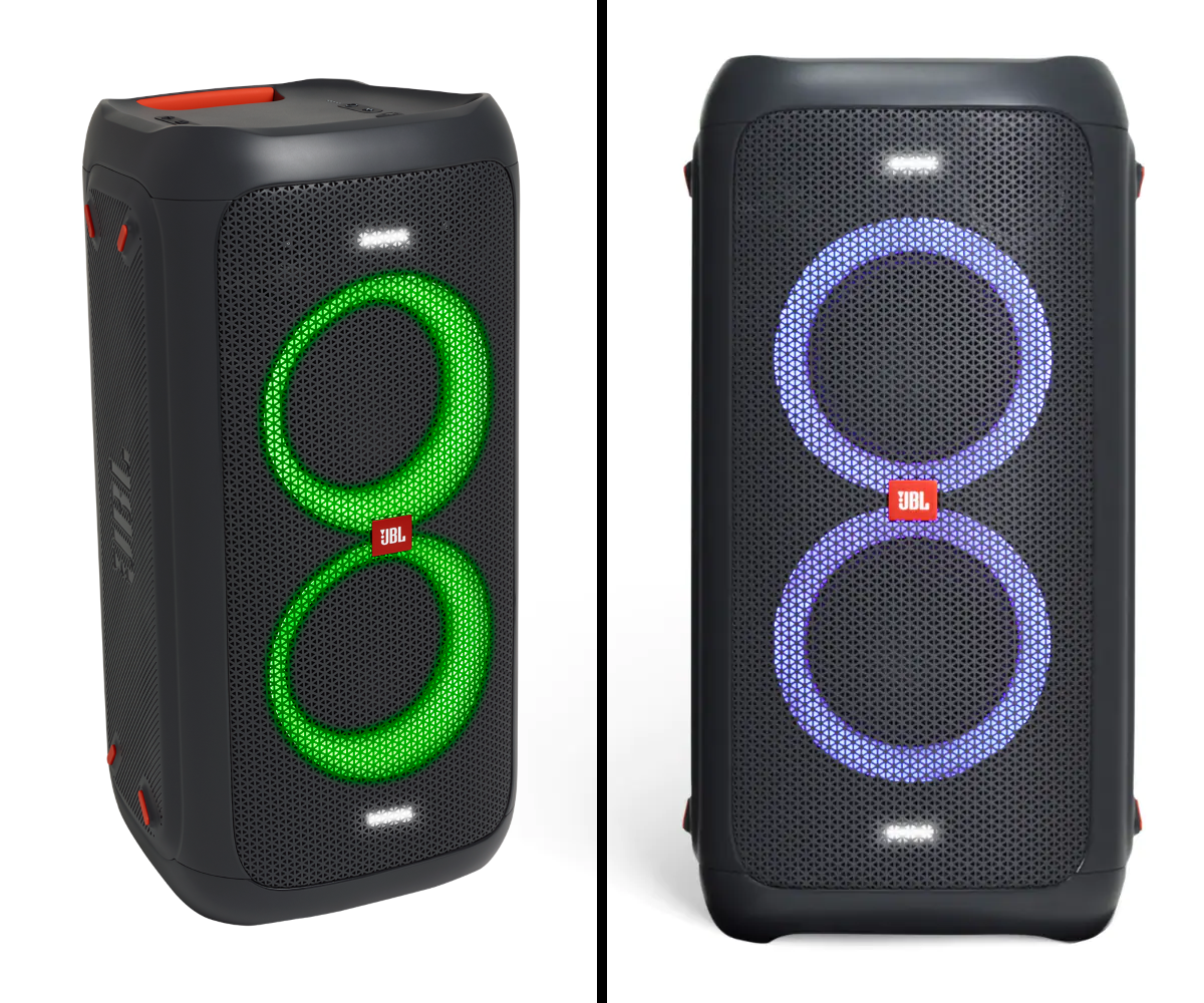 JBL PartyBox 100 - Dynamic Light Show