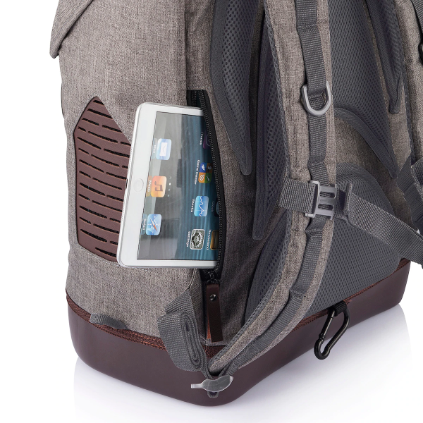 """Back iPad Pocket that fits iPads measuring up to 9.7"""""""
