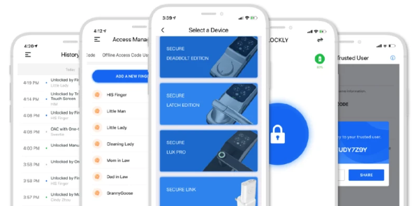 Lockly Secure Pro - Lockly App