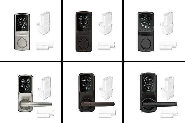 Lockly Secure Pro - 3 Different Color Models