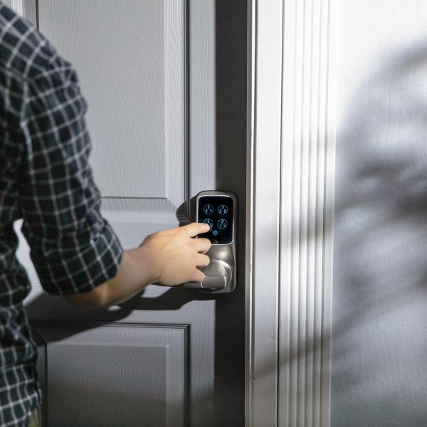 Smart Door Lock - Secure Digital Keypad