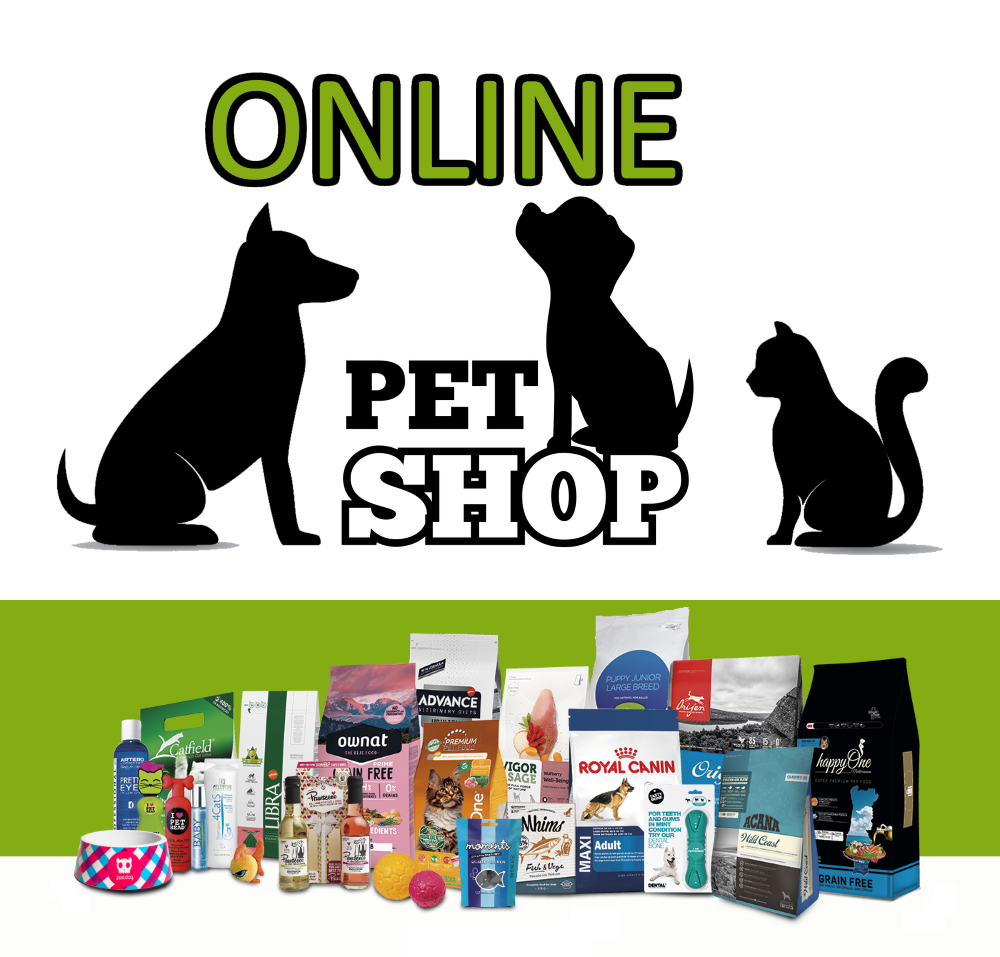 Online Pet Shops can be created and set up / configured in a matter of a few days - Products are stored in a rented industrial-size warehouse