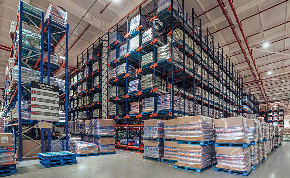 Rented industrial-size warehouse to store pet products sold online