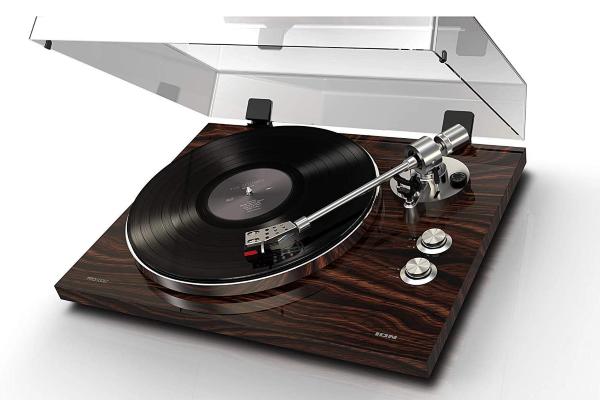 Pro500BT - Stylish Wood Finish Design