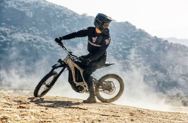 Riders can confidently explore all off-road terrains
