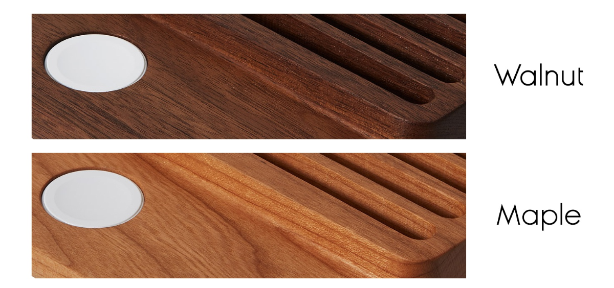 Two Different Models Available - Solid Walnut Wood/Cherry Wood