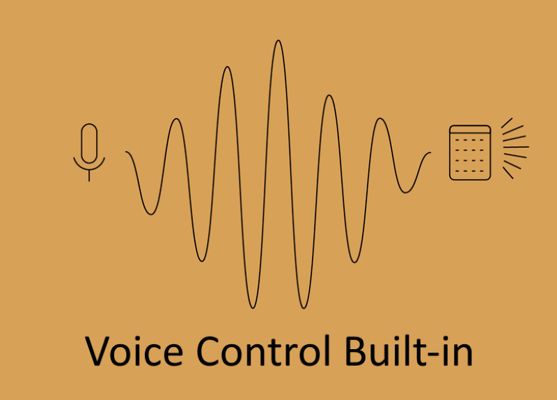 Voice Control Built-In