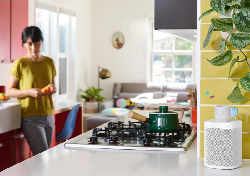 Sonos One Smart Speaker (2nd Gen) - White Color Model