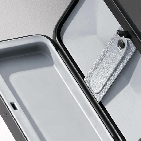 Internal Odor-Free Safety Storage Compartment