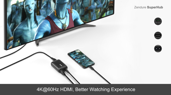 HDMI port that gets you 4K video at 60fps