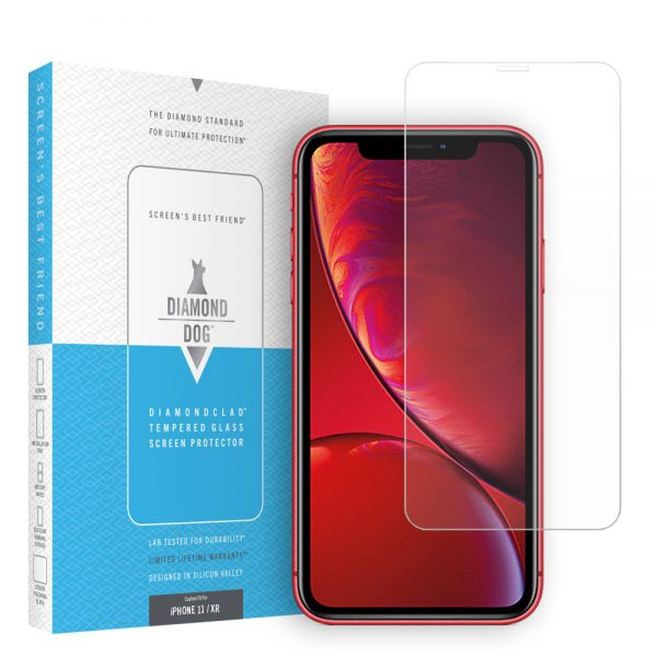 Diamond Dog Diamondclad Tempered Glass Screen Protector (Model for the iPhone 11/ XR)