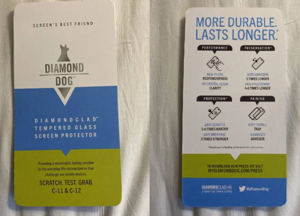 Diamond Dog Diamondclad - Screen Protector Scratch Test