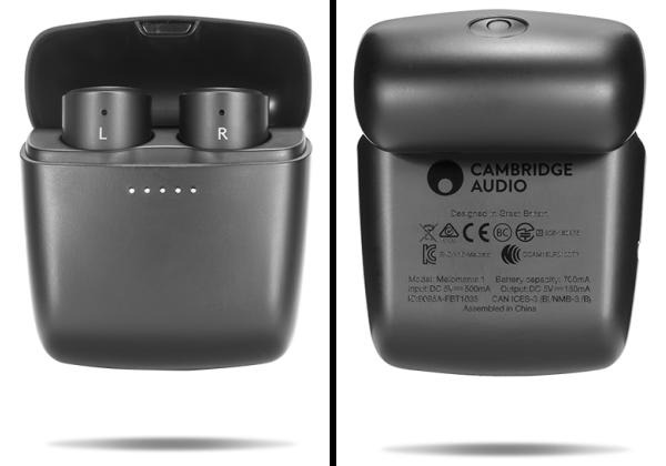 Melomania 1 Earbuds' Carrying/Charging Case