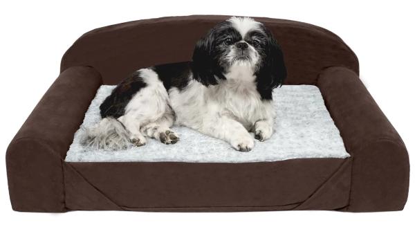 FurHaven Luxury Edition Sofa Pet Bed