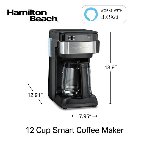 Hamilton Beach Smart 12 Cup Coffee Maker - Design