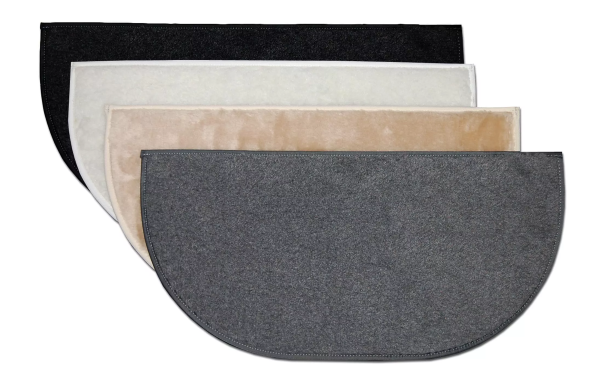 Replacement soft faux sheepskin padding sets