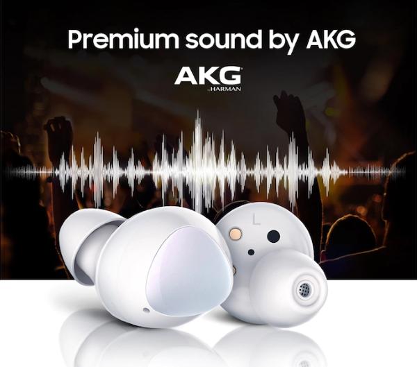 Featuring AKG's Premium Sound