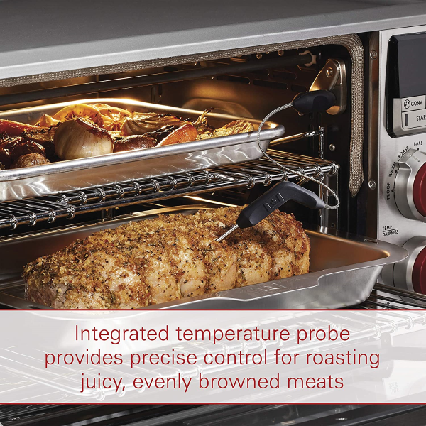 Equipped with a built-in super accurate Precision Temperature Probe