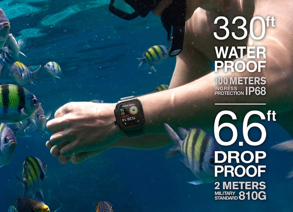 Full 360º waterproof design