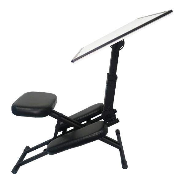Works as a Fully Adjustable Ergonomic Desk System